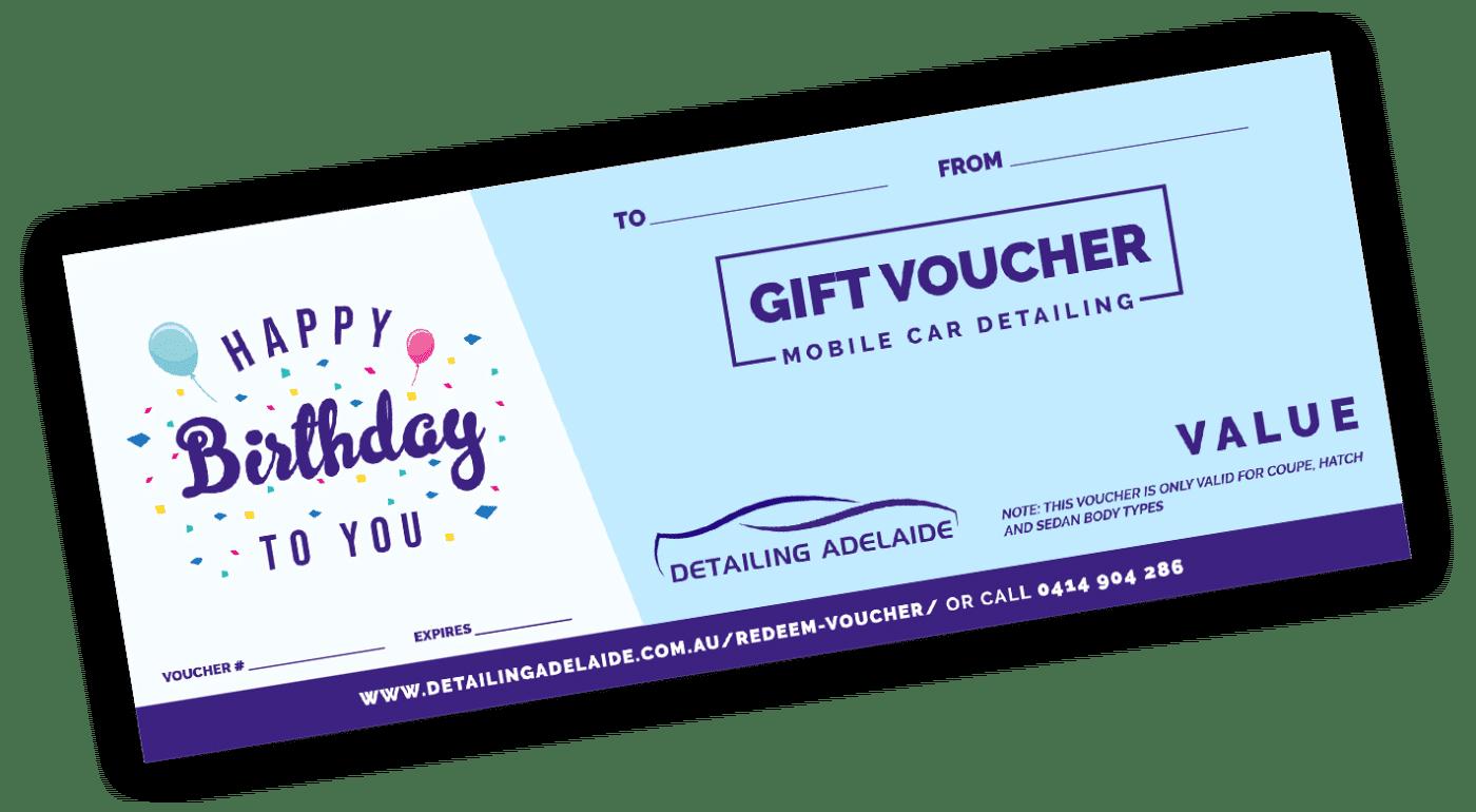Birthday Gift Voucher